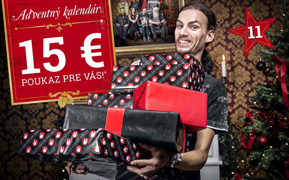 15 € poukaz pre Vás!*