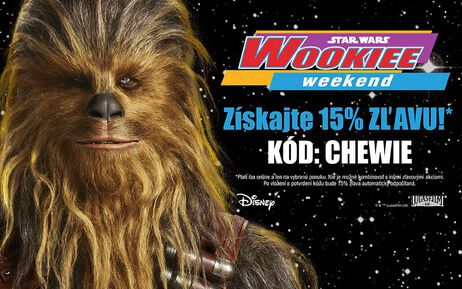 Wookiee Weekend - oslávte s nami!