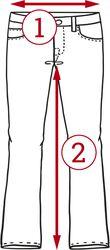 Koženkové šortky so šnurovaním