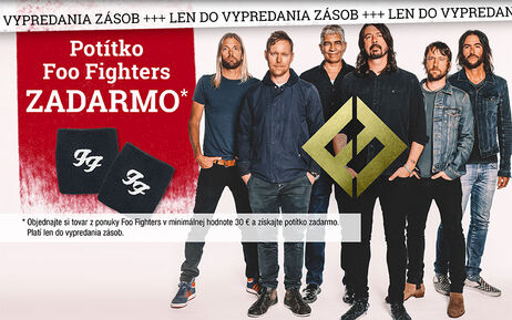 Potítko Foo Fighters ZADARMO
