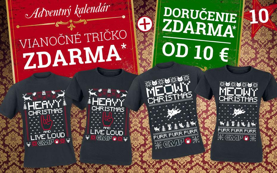 Vianočné tričko zdarma*