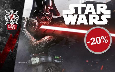 Získajte 20% ZĽAVU na vybranú ponuku STAR WARS!