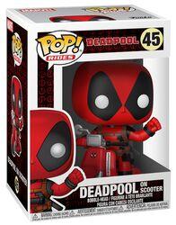 Vinylová figúrka č. 45 Deadpool on Scooter