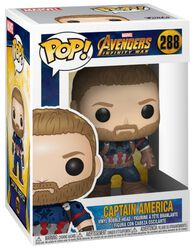 Vinylová figúrka č. 288 Infinity War - Captain America