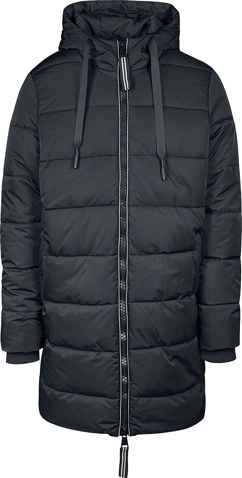 Prešívaný kabát s kapucňou  9ef9cb53b07