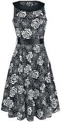 Swingové šaty Flashy Rose
