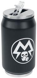 Glow in the Dark Fľaša na pitie Metro Exodus v tvare plechovky s logom Spartan