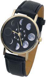 Náramkové hodinky s lunárnym kalendárom