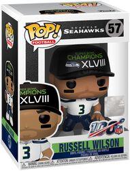 Vinylová figúrka č. 57 Seattle Seahawks - Russel Wilson