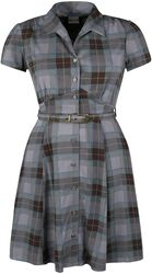 Mackenzie Tartan 40's Shirt Dress