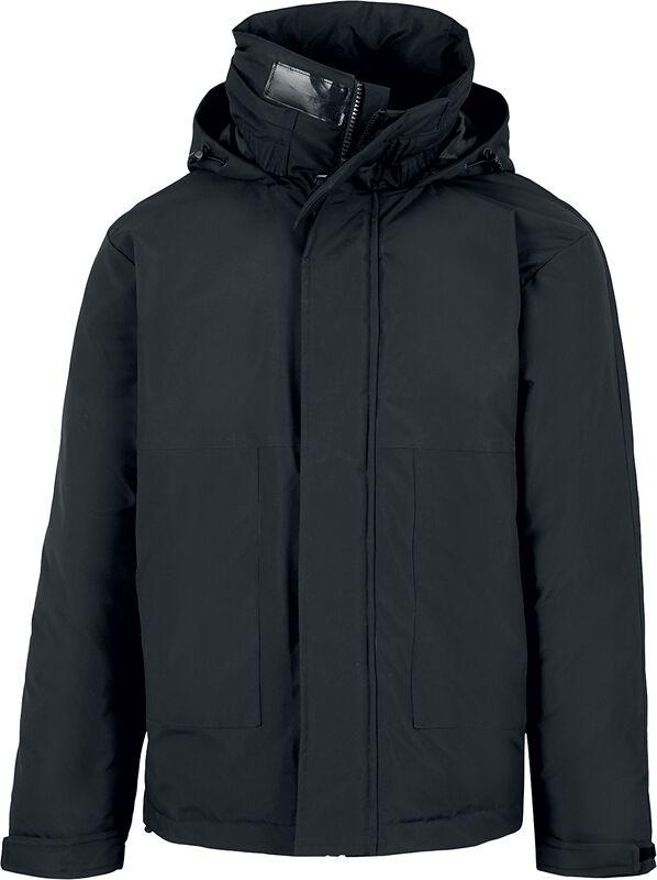 Zimná bunda s vreckami