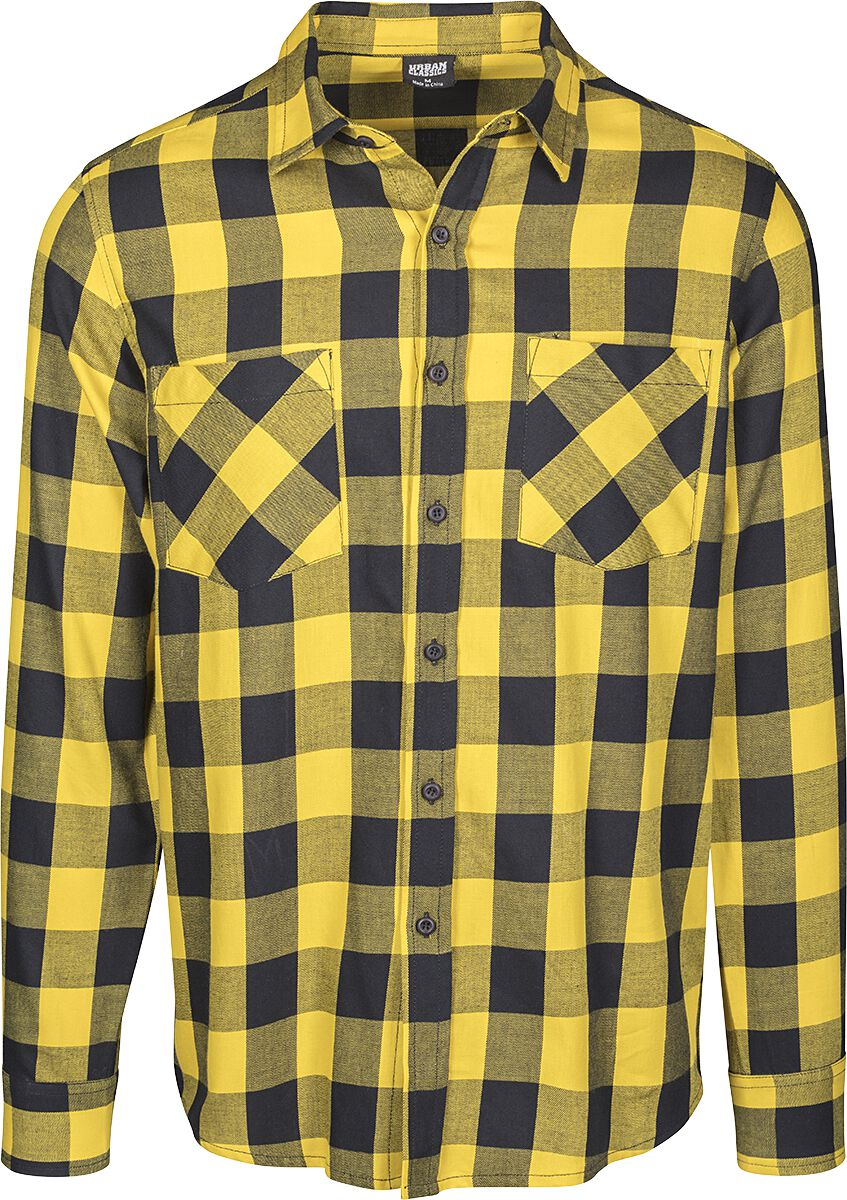 9aea86665d13 Kockovaná flanelová košeľa