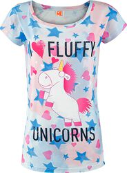 I Love Fluffy Unicorns