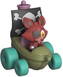 Vinylová figúrka č. Super Racers - Foxy the Pirate