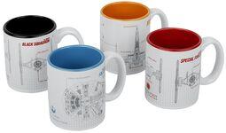 Šálky na espresso Blueprints