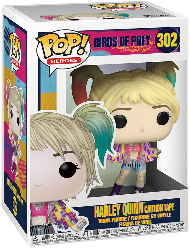 Vinylová figúrka č. 302 Harley Quinn Caution Tape