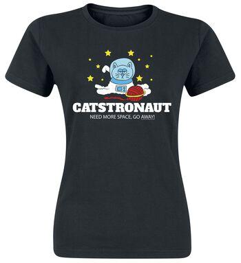 Catstronaut Need More Space, Go Away!