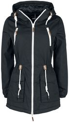 Dámsky kabát na zips
