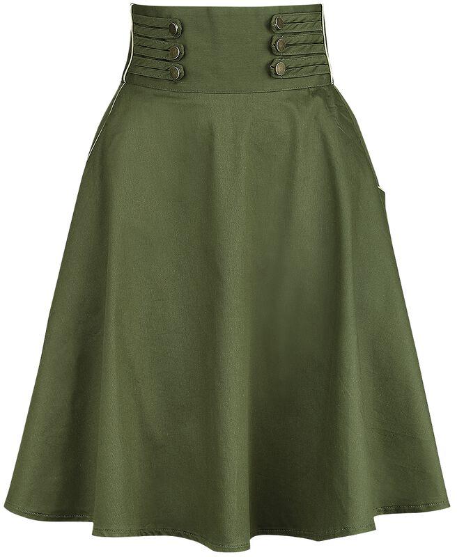 Široká sukňa Martha 40s