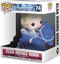 Vinylová figúrka č. 74 Elsa Riding Nokk (Pop Rides)