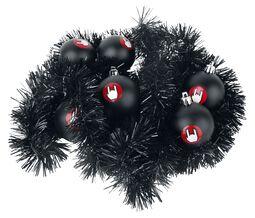 Vianočné guľe & dekoračné lametty