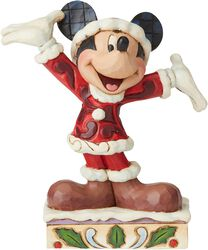 Figúrka Mickey Mouse Mini Christmas