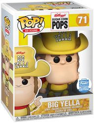 Vinylová figúrka č. 71 Sugar Corn Pops - Big Yella (Funko Shop Europe)