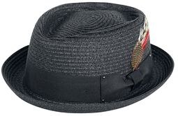 Slamený klobúk Pork Pie