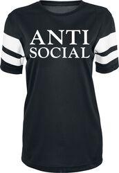 Dámske sieťovinové tričko s prúžkami