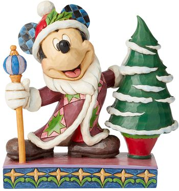 Figúrka Mickey Mouse Father Christmas