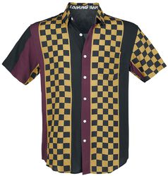 Kockovaná bowlingová košeľa