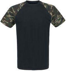 Raglanové kontrastní tričko
