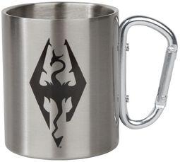 Hrnček s karabínkou V - Skyrim - Dragon Symbol