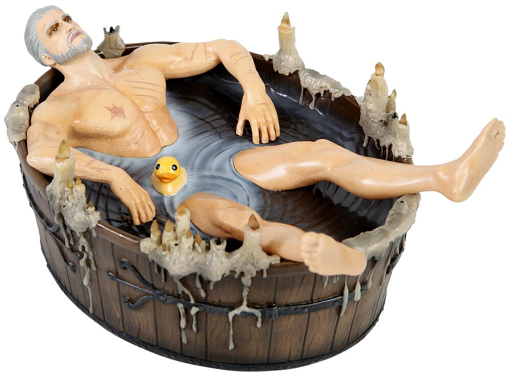 3 - Wild Hunt - Geralt in the Bath