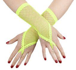 Sieťovinové rukavice s pútkom na prst