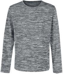 Hrubý melírovaný sveter