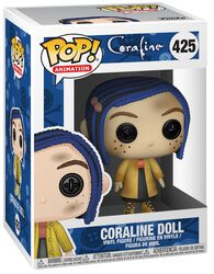 Coraline Vinylová figúrka č. 425 Coraline Doll