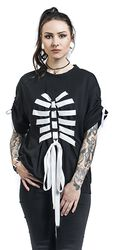 Tričko Strung Up Skeleton