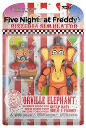 Akčná figúrka Pizza Simulator - Orville Elephant