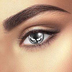 Kontaktné šošovky Skull Eye