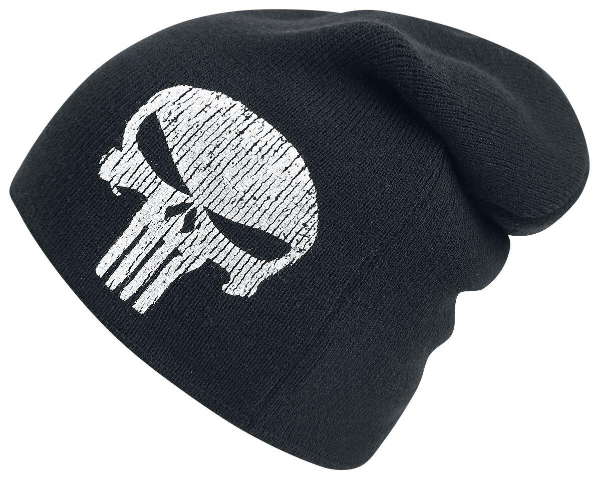 494d19d17 Dlhá čiapka s logom   The Punisher Beanie čiapka   EMP