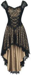 Dlhé šaty Vokuhila