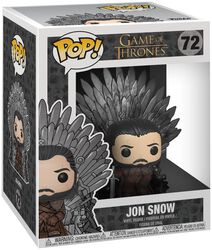 Vinylová figúrka č. 72 Jon Snow Iron Throne (POP Deluxe)