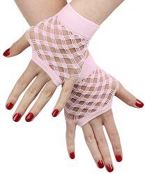 Krátke sieťovinové rukavice