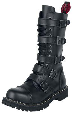 Topánky so 14-radovým šnurovaním a 5 prackami
