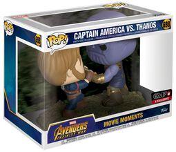 Vinylová figúrka č. 698 Infinity War - Captain America vs Thanos (Movie Moments)
