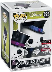 Vinylová figúrka č. 226 Dapper Jack Skellington (Glitter Diamond Edition)