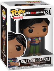 Vinylová figúrka č. 781 Raj Koothrappali
