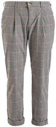 Dámske kockované nohavice