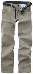 AOP Stretch Chino w. Opasok